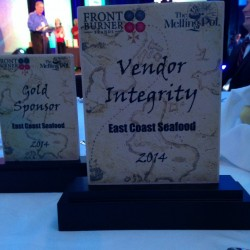 Proud of our Vendor Integrity Award!